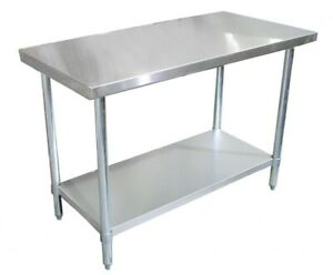 24 X 24 Nsf Stainless Steel Work Table