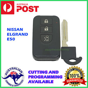 Nissan Elgrand Smart Key Remote Genuine 3 Buttons Used