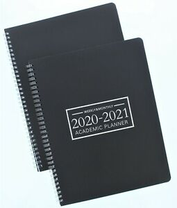 Weekly Monthly 2020 2021 Academic Planner 2pk