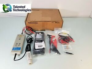 Tektronix P5205 High Voltage Differential Probe 100mhz Includes Probe Tips