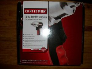 Craftsman 1 2 Inch Impact Wrench