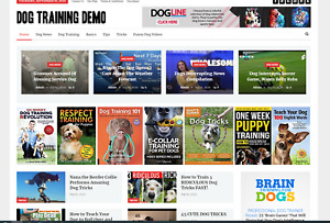 Dog Training Guides Affiliate Product Website 100 Automated