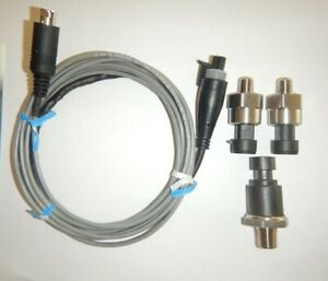 100 500 5000 Psi Pressure Transducers 10ft Cable For Snap On Scopes