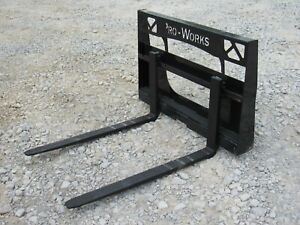42 2 200 Pound Pallet Forks Attachment Fits Asv Terex Rc30 Pt30 Rt40 Ro70t