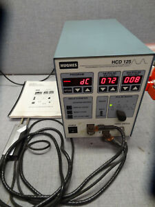 Hughes Hcd 125 Programmable Capacitor Discharge Welder Power Supply With Head