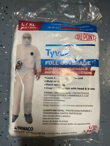 Tyvek Dupont Full Coverage Ppe Suit L xl