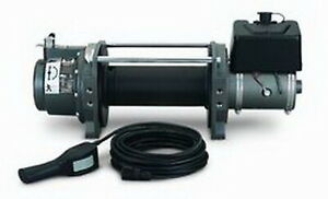 Warn Hydralic Winch Hydraulic 9000 Lb Cap Without Wire 30281