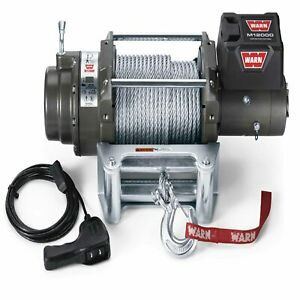 Warn M12000 Winch 12k Lb 12 Volt 12000 Lb Cap 125 Ft Wire Rope 17801