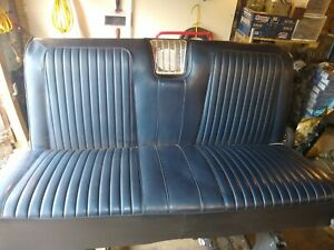Solid Rear Seats 1962 1964 Olds Starfire Chevy Impala Buick Wildcat Lesabre