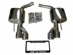 Top Speed Pro 1 For 2007 2012 Mercedes Benz Sl550 Amg Axle back Exhaust