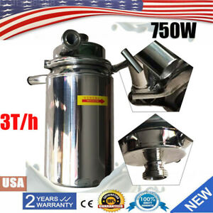 Food Grade Centrifugal Pump Sanitary Pump 750w 3t h Flow Commercial Pumps Usa