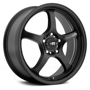 Motegi Racing Mr131 Traklite Wheels 17x8 40 5x114 3 72 6 Black Rims Set Of 4