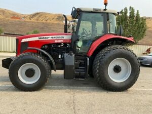 Massey Ferguson 6485 4x4 Ac 155 Hp Good Hours Dyna 6 Shift Ex S Calif City