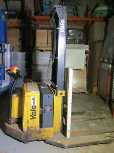Yale Lift Truck Walkie Stacker Walk Behind Forklift
