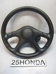 1992 1993 Acura Integra Xsi Jdm Factory Leather Steering Wheel Oem Da Gsr Rare