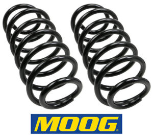 2 Coil Springs Moog Rear For Jeep Grand Cherokee 99 04 Replace Oem 52088404ky