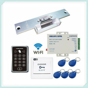 2 4g Wifi Door Access Control Keypdad Kit With Electric Fail secure Strike Lock