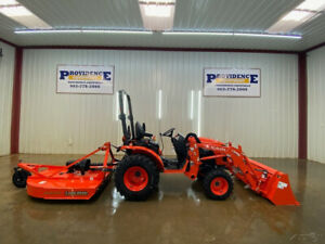 Kubota B2601hsd Orops Compact Tractor 4wd Cruise Control