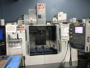 Haas Vf 2 Vertical Machining Center 2006 Side Mount 24 Atc Auger