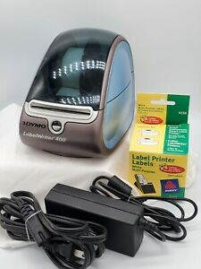 Dymo Labelwriter 400 Label Thermal Printer 93089 W Ac Adapter W 2 5 Rolls Tape