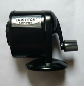 Bostitch Antimicrobial All Metal Pencil Sharpener used