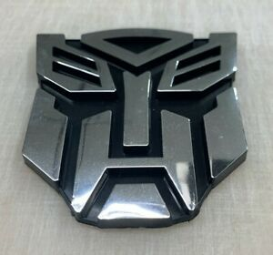 3d Autobot 3 Inch Transformer Emblem Badge Decal Car Stickers Chrome Plastic Us