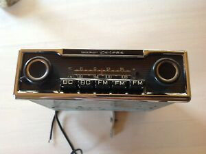 Mercedes Porsche Ferrari 250 280 Sl Becker Radio Europa 250sl 280sl Works Great