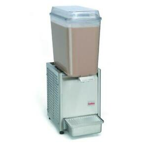 Crathco D15 3 1 Bowl Refrigerated Beverage Dispenser With S s Side Panel