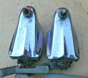 1940 Chevy Windshield Wiper Towers Original Gm Trico Pair Left Right Pontiac 25