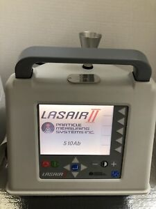 Lasair Ii Particle Measuring Systems 510ab Portable Particle Counter Air Quality