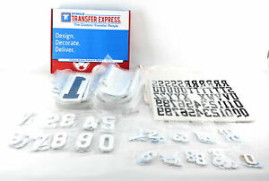 Large Heat Transfer Jersey shirt Letter And Number Lot From Stahls Heat Press On