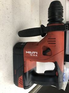 Hilti Te 6 a Cordless Rotary Hammer Drill Used With Battery Only
