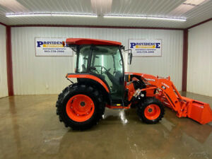 2016 Kubota L4060 Hst 4wd Cab Tractor Loader A c And Heat