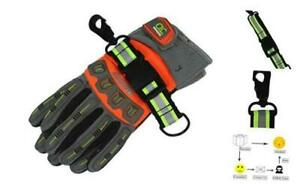 Melotough Firefighter Glove Strap Glove Holder With Glove Leash Swivel Snap Ho
