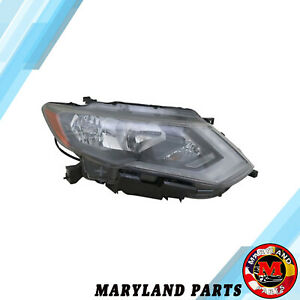 For 2017 2018 Nissan Rogue Headlight Right Passenger Side