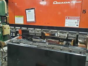 88 Ton X 8 Amada Fbd 8025 Cnc Press Brake 1991 Nc9exii Control