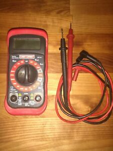 Craftsman 34 82141 8 Function Digital Multimeter Fully Tested Free Shipping