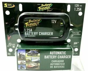 Battery Tender 12v 1 25a Plus Charger Maintainer Automatic 022 0185g dl wh New