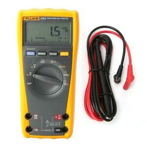 Fluke 175c Rms Digital Multimeter Frequency Capacitance Resistance Measurement
