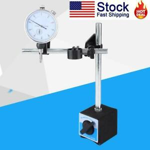 Accuracy 0 01mm Dial Test Indicator Gauge Scale W Magnetic Base Holder Stand