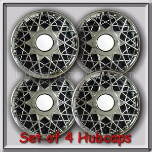 4 16 Ford Crown Victoria Hubcaps 1998 2002 Ford Crown Vic Police Wheel Covers