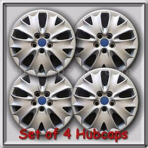 2013 2014 Ford Fusion Hubcaps 16 Wheel Covers Free Shipping Set Of 4