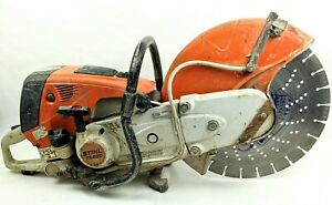 Stihl Ts800 Gas Concrete Cut off Saw W 16 Guardian Diteq Wet dry Blade Disk