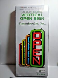 Green Light Innovations Led Open Sign For Business 8 X 19 Inch new Sealed