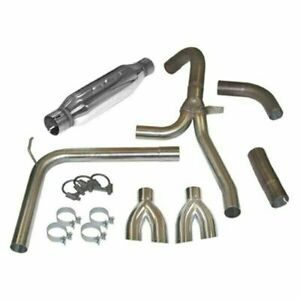 Slp 31042 Exhaust System W Dual dual Tips For 1998 2002 Camaro firebird Ls1