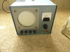 Vintage Welch Scientific Co 2639a Power Supply For Electron Diffraction Tube