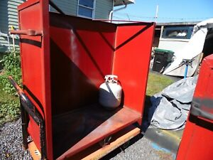 1 Of 4 Usa Portable Industrial Commercial Steel Rolling Shelves Or Carts