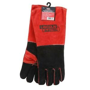 5 pack Lincoln Electric Premium Leather Welding Gloves Kh643