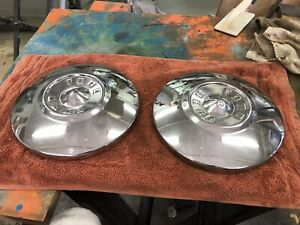 1955 1956 Ford Hubcaps 2