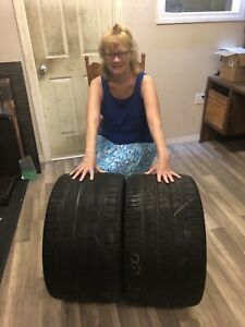 Two 2 335 25zr20 99y Michelin Pilot Super Sport Zp Corvette Tires W Free Ship